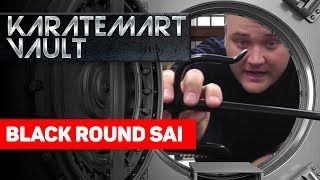 black Round Sai Review Product Review - KarateMart.com