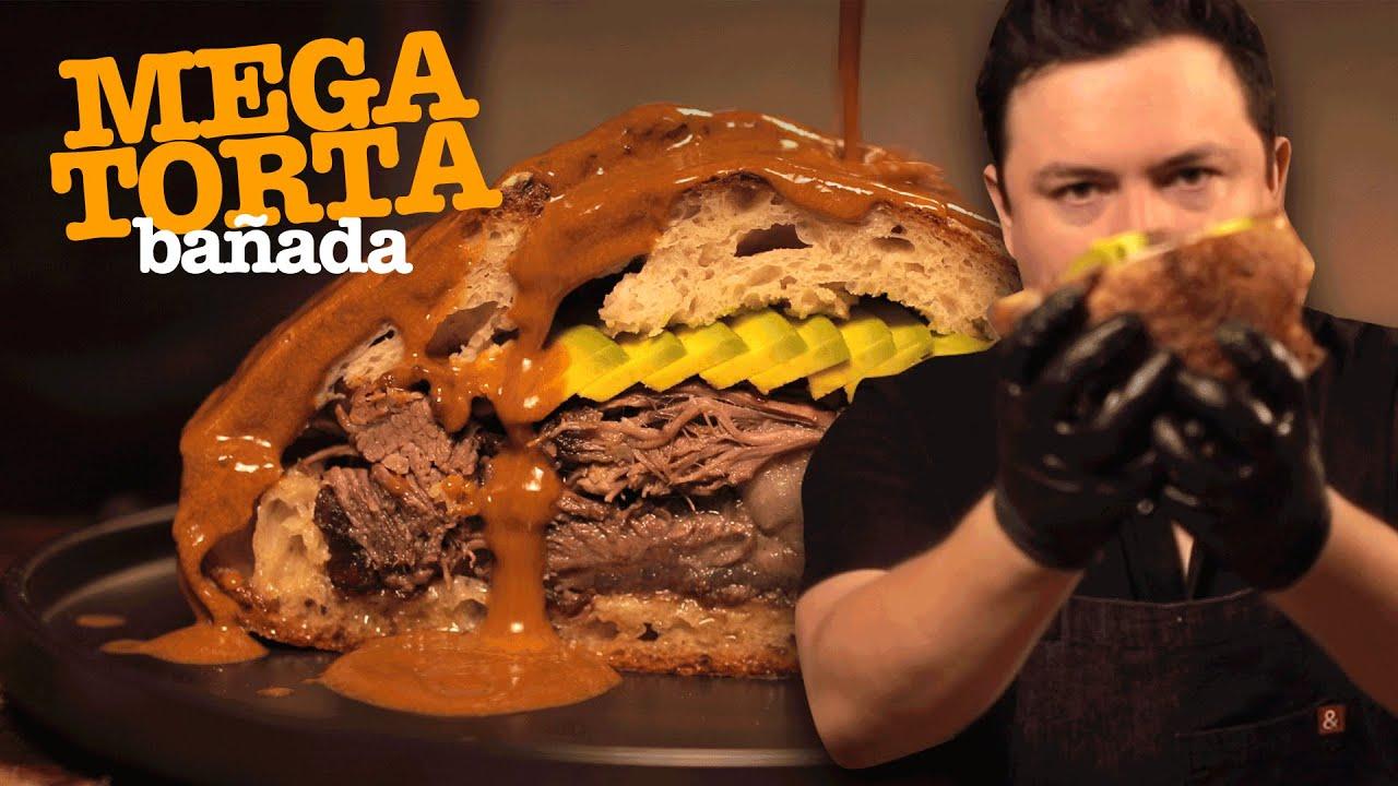 TORTA DE COSTILLA BAÑADA 🔥🍖