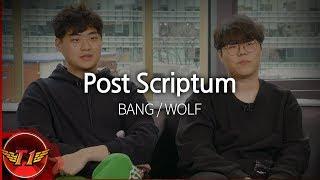 [ Post Scriptum ] BANG / WOLF