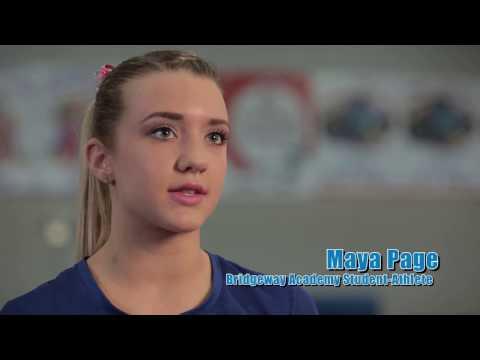 Bridgeway's Flexible Online Homeschooling Is Ideal for Busy Gymnasts