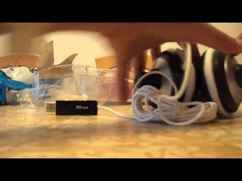 Unboxing: Quasar USB Headset: Trust