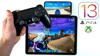 iOS 13 - How to Play iOS Games w/ PS4 or Xbox Controller!