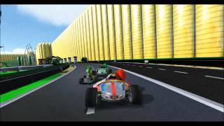 Mario Kart Mod in Trackmania United Forever