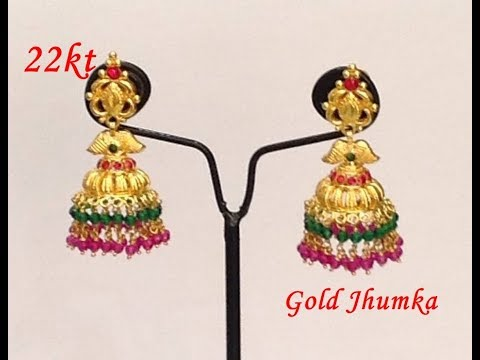 How a gold Kammal & Jhumka is made