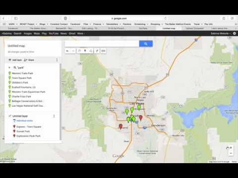 How to Create an Interactive Map Using Google Maps - YouTube