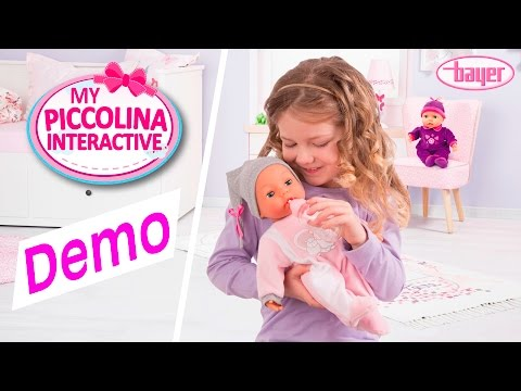 My Piccolina Interactive - Doll - Puppe - Demo - Bayer Design