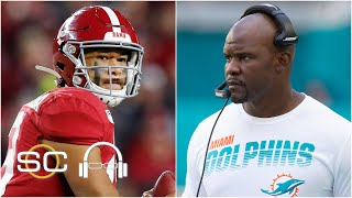 Could the Dolphins use gamesmanship to spread draft rumors? | SC with SVP