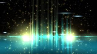 8K Extreme Cyan Glow Space Strips 4320p Motion Background