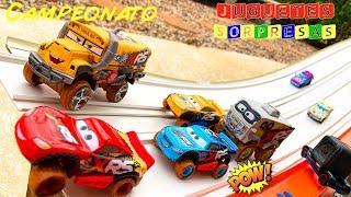XTREME RACING SERIES DISNEY CARS CAMPEONATO Carros de Carrera para niños  Pista de Coches CARS