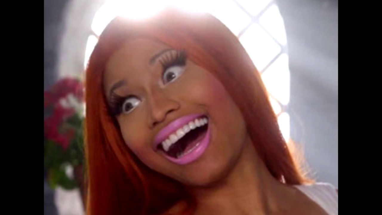nicki minaj laughing for 9 minutes amp 40 seconds youtube