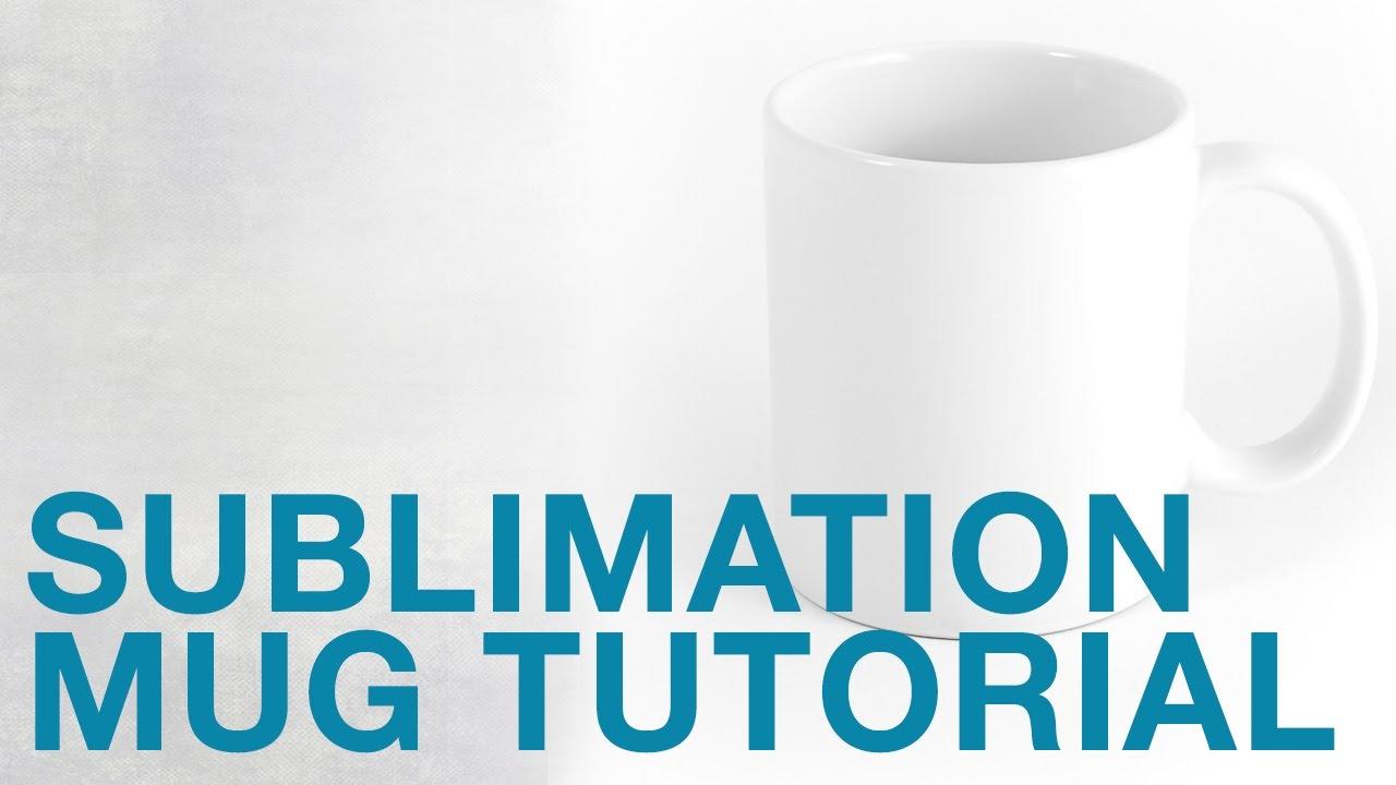 8 oz. Sublimation Mug Full Bleed Transfer Using HPN Signature Series Mug  Press