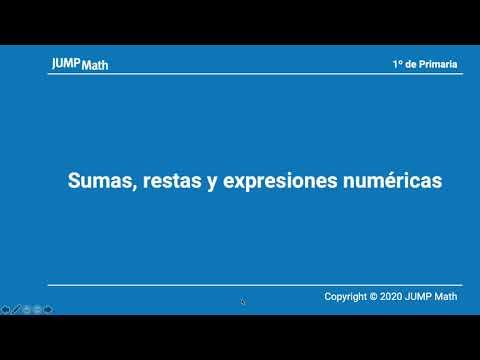 1. Unidad 9. Sumas, restas y expresiones numéricas