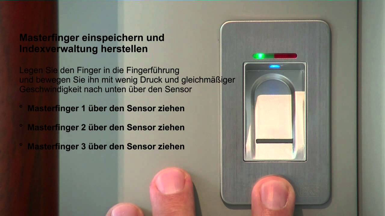 Fingerprint In Haustür Fingerscanner Idencom