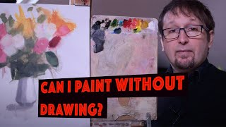 #1 Episode Why should I paint a still life with flowers in 2021?Time lapse demonstration
