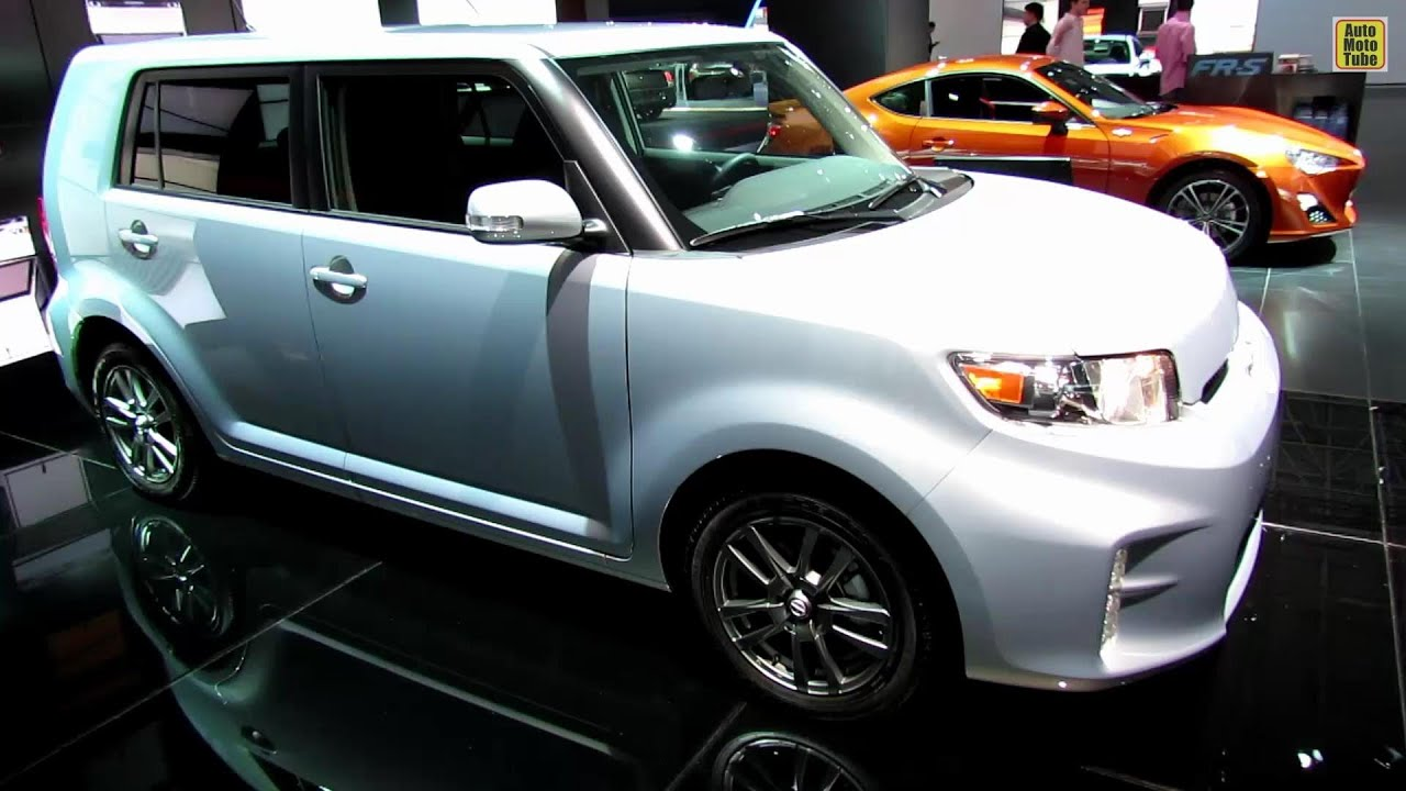 scion 2014. 2014 scion xb silver ignition 10 series exterior and interior walkaround 2013 ny auto s youtube