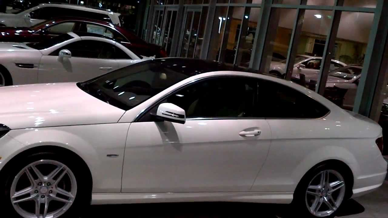 2012 Mercedes Benz C250 Coupe Youtube