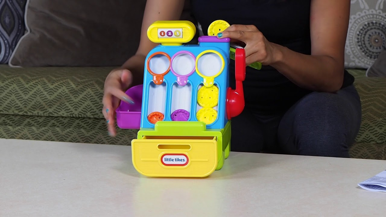 Little tikes cash register - Unboxing Little Tikes Cash Register
