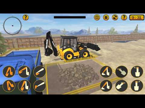 Excavator Simulator - Construction Road Builder Gameplay Video Android/iOS