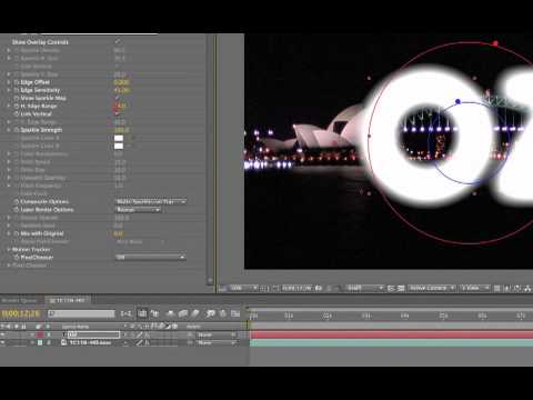Using BCC Glint and FEC Sparkle Edges in After Effects CS5