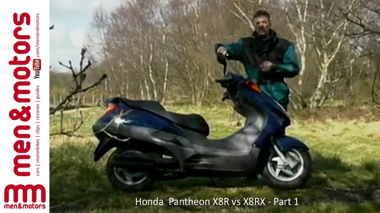 honda pantheon x8r vs x8rx part 1 youtube. Black Bedroom Furniture Sets. Home Design Ideas