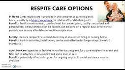 Respite Care 101