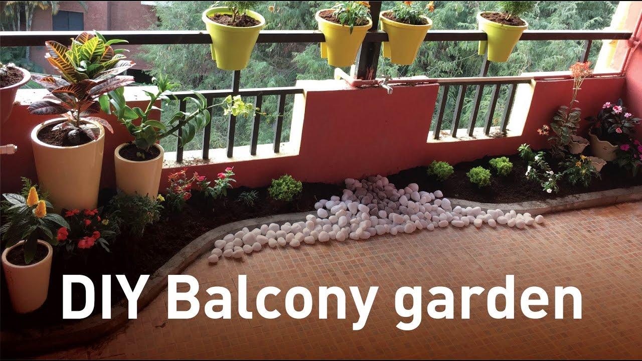Diy Balcony Garden You