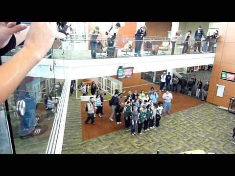 College of DuPage Flash Mob