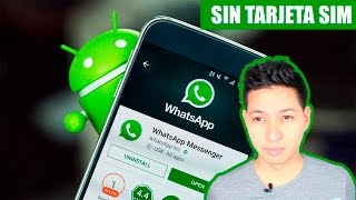 Activar WhatsApp con numero virtual 2017 Gratis