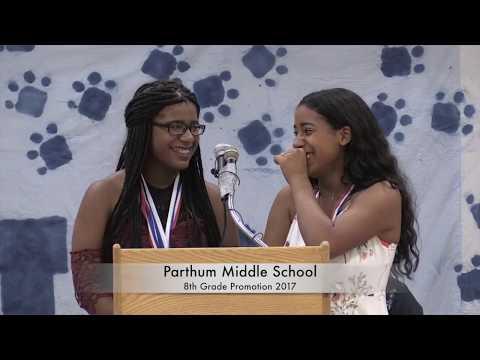 Parthum Middle School Grade 8 Promotion 2017