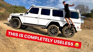 FAKE MERCEDES 6X6 G-WAGON IS WORST OFF ROAD SUV! *HEATH HUSSAR & TANNER FOX*