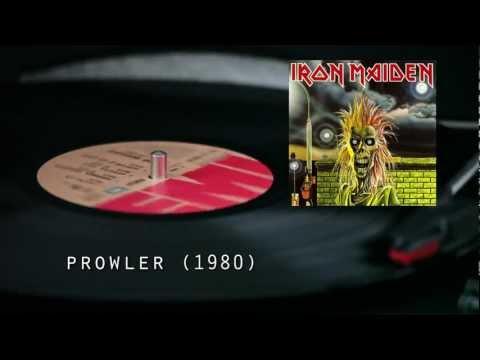 IRON MAIDEN - Prowler (studio version / vinyl video )