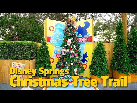 Christmas Tree Trail | Disney Springs