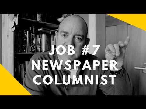 52 at 52: Job #7 -- Newspaper Columnist