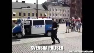 Russian police vs Swedish police