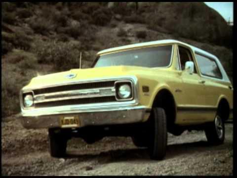 1969 Chevrolet K5 Blazer - YouTube