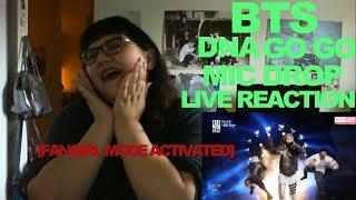 Video BTS - DNA, GO GO, MIC DROP LIVE COMEBACK SHOW REACTION [FANGIRL MODE ACTIVATED] download MP3, 3GP, MP4, WEBM, AVI, FLV Agustus 2018