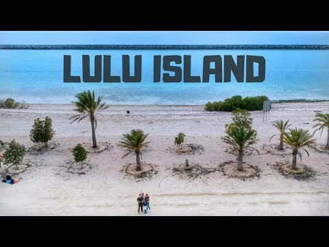 LULU ISLAND Aerial View | best place for isolated camping | TAGALOG VLOG