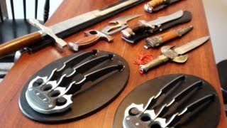 Broad Sword Wolverine Style Claws Daggers Knives thumbnail