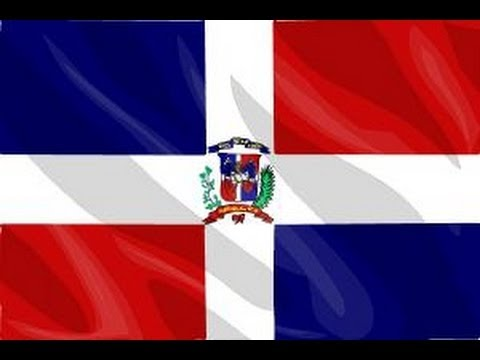 how to draw the dominican republic flag - youtube