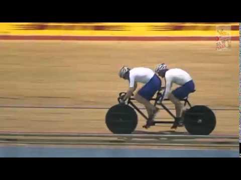 Track bike tire blowoutz