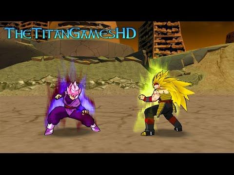 Dragon Ball Z Shin Budokai 2 Mods - Black Goku Ssj Rose Vs ...