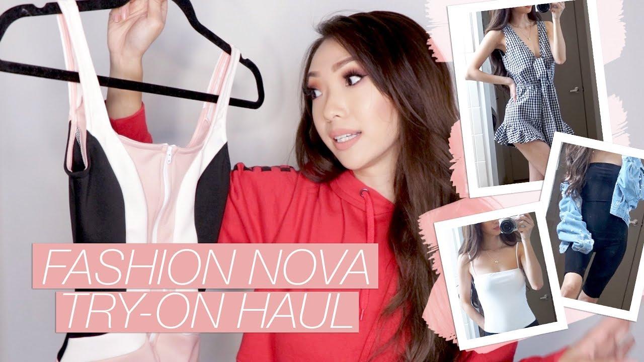 461911e25f85 Fashion Nova May Try-On Haul 2018 - YouTube