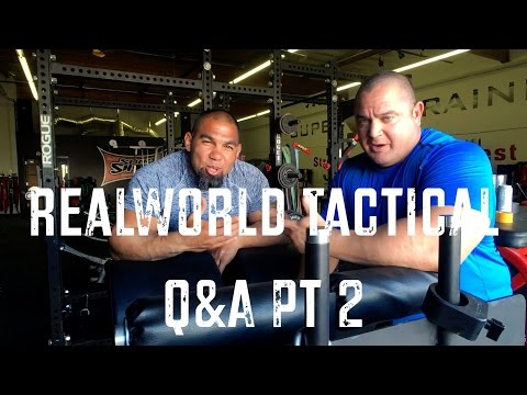 Real World Tactical | More than Functional Fitness | Q&A Part 2