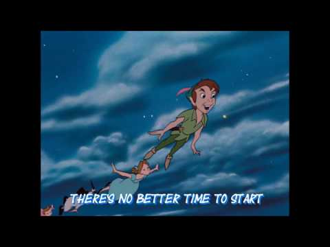 Peter Pan You Can Fly Lyrics Youtube