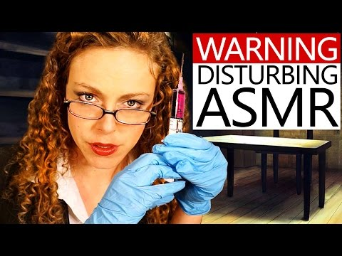 Warning: Disturbing ASMR - Enhanced Interrogation Role Play! Whispering, Ear Massage & Mouth Sounds