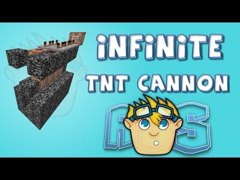 MINECRAFT: Best TNT Cannon EVER 1.8 Snapshot