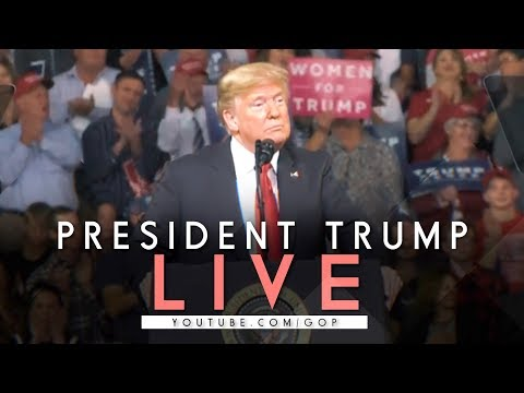 LIVE: President Trump In Huntington, WV