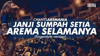 chants aremania   janji sumpah setia arema selamanya cover fingerstyle version