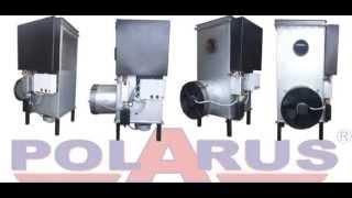 Как разжигать печь на отработанном масле Polarus P11C