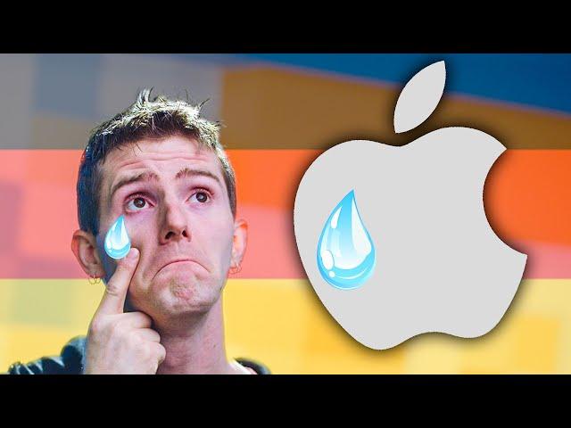 I'm ALMOST sad for Apple...